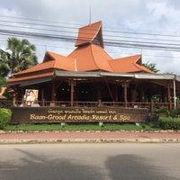Photo taken at Baan Grood Arcadia Resort and Spa by Nun K. on 8/12/2016