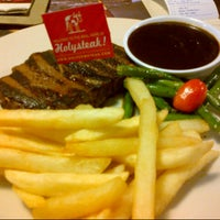 Photo taken at Steak Hotel by Holycow! TKP Radal by Elly R. on 8/8/2015