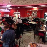 Photo taken at Steak 'n Shake by Jeff C. on 2/1/2014