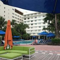 Photo taken at Four Points by Sheraton Miami Beach by Jeff C. on 6/3/2013