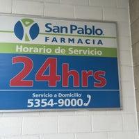 Photo taken at Farmacia San Pablo by Alejandra R. on 1/4/2016