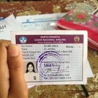 Photo taken at SMA Negeri 1 Makassar by annisa r. on 3/13/2014