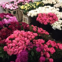 Photo taken at Flower District by Soomin S. on 12/16/2015