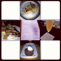 Photo taken at Meritage Restaurant & Wine Bar by Ashley M. on 10/5/2012