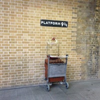 Photo taken at Platform 9¾ by Arisa K. on 1/2/2013
