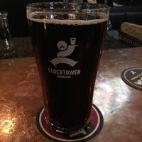 Photo taken at Clocktower Brew Pub by Ernie M. on 3/12/2016