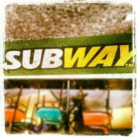 Photo taken at Subway by Newton S. on 1/29/2013