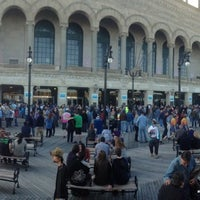 Photo taken at Boardwalk Hall by Daryl B. on 4/27/2013