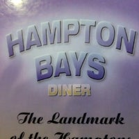 Photo taken at Hampton Bays Diner by Debbie G. on 6/3/2013