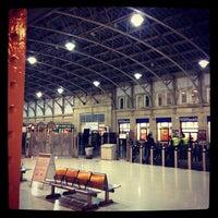 Photo taken at Aberdeen Railway Station (ABD) by Bruce S. on 11/11/2012
