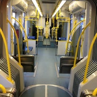 Photo taken at TriMet SW 6th & Pine St MAX Station by Lonnie R. on 2/2/2013