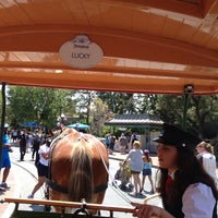 Photo taken at Horse-Drawn Streetcars by Blackjack J. on 7/1/2014