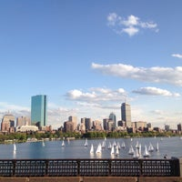 Photo taken at Longfellow Bridge by paddy M. on 5/17/2013