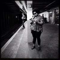 Photo taken at MTA Subway - 23rd St (C/E) by Crillmatic on 10/20/2012