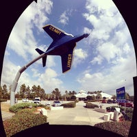 Photo taken at Florida Welcome Center by Evan P. on 11/30/2012