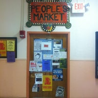 Photo taken at People's Market by Chris S. on 4/13/2013