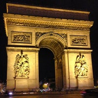 Photo taken at Arc de Triomphe by Ivan J. on 8/30/2013