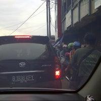 Photo taken at Pasar Proyek Bekasi by Adzans S. on 11/25/2012