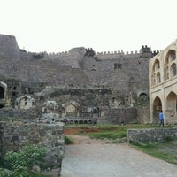 Photo taken at Golconda Fort by Chris C. on 11/13/2012