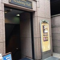 Photo taken at アカデミーホール by kaoring on 7/13/2014