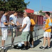 Photo taken at Corbin J. Robertson Stadium by Michael C. on 7/31/2014