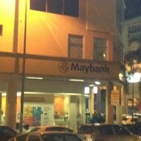 Photo taken at Maybank Section 5 by Sam K. on 2/23/2014