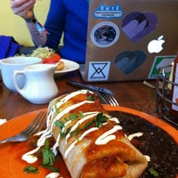 Photo taken at Mo'z Cafe by John L. on 4/4/2013