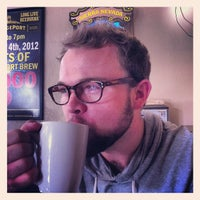 Photo taken at Brew Station Coffee House, Cafe, and Pub by Peter R. on 9/28/2012