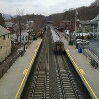 Photo taken at Metro North - Garrison Train Station by Colette H. on 3/11/2013