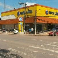 Photo taken at Supermercado Santa Lúcia BR by Simone V. on 2/22/2016