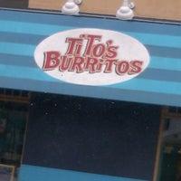 Photo taken at Tito's Burritos by Bri<3 on 4/18/2013