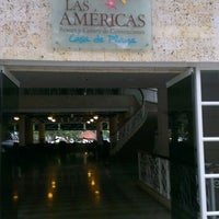 Photo taken at Hotel Las Américas Resort by José B. on 4/7/2013