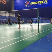Photo taken at Pro One Badminton Centre by Missctaisyah on 9/8/2016