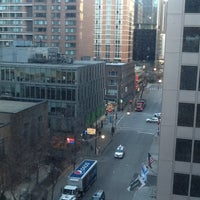 Photo taken at Red Roof Inn Chicago Downtown - Magnificent Mile by Alex F. on 1/17/2013