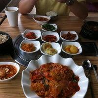 Photo taken at Da Sa Rang Korea BBQ Restaurant by Melinda L. on 1/1/2013