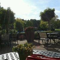 Photo taken at Fletcher Hotel-Restaurant Doorwerth-Arnhem by Indira R. on 9/30/2012