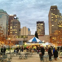 Photo taken at Columbus Commons by Chris B. on 11/30/2012