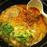Photo taken at Ajisen Ramen by Joy T. on 1/20/2013