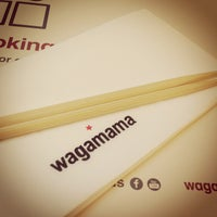 Photo taken at Wagamama by Jaime B. on 5/13/2013