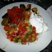 Photo taken at Yamas Mediterranean Grill by Debby G. on 4/25/2013