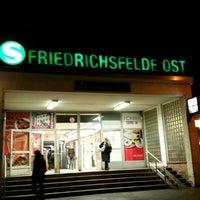 Photo taken at S Friedrichsfelde Ost by SternenTiger2 .. on 2/25/2016