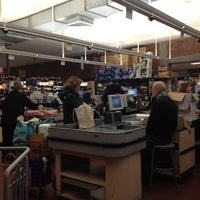 Photo taken at Park Slope Food Coop by Leah K. on 12/17/2012