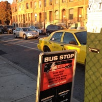 Photo taken at Bolt Bus Baltimore Stop by Leah K. on 10/22/2012