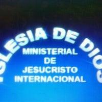 Photo taken at Iglesia Ministerial de Jesucristo Internacional by karime s. on 9/19/2012