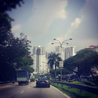 Photo taken at Jalan Syed Putra by Anas A. on 11/16/2012