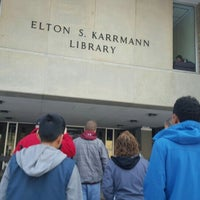Photo taken at Karrmann Library at UW-Platteville by Mary Jane S. on 1/25/2016