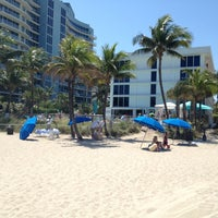 Photo taken at Pool @ Sheraton Ft. Lauderdale by Alexandre F. on 3/30/2013