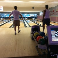 Photo taken at Valencia Lanes by Iman S. on 7/23/2014