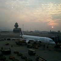 Photo taken at Terminal 2 by Wen H. on 11/1/2012