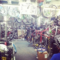 Photo taken at Roy's Sheepshead Cycle by Taryn T. on 7/28/2013